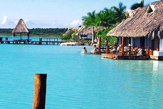 Bacalar Qintana Roo Lagoon 7 Colors Tour