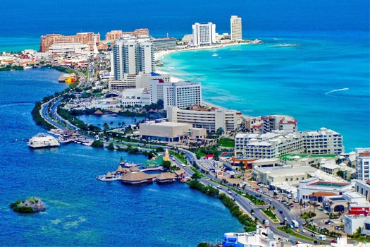 Cancun Shuttle to Hotels Area